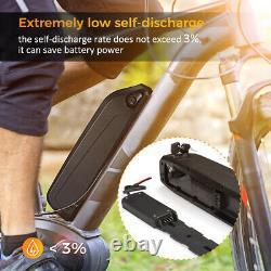 36v 10ah 500w Downtube Au Lithium Li-ion Rechargeable E-bike Vélo Électrique Beaucoup Moteur