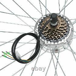 36v 250w Conversion Moteur Roue Arrière Vélo Électrique Kit E Hub Vélo Vélo 26