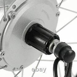 36v350w 26 Fit Arrière Moteur Pour Cassette Vélo Électrique E-bike Kit De Conversion