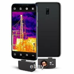 384x288 Usb Manual Focus Infrared Thermal Imaging Camera Pour Android Ht-301