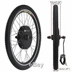 48v 1000w Vélo Électrique Moteur Conversion Kit Roue Avant De Vélo À Vélo Hub 26