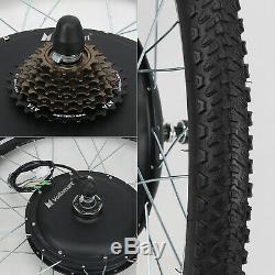 48v 1000w Vélo Électrique Moteur Kit De Conversion Vélo À Vélo Hub 26 Roue Arrière
