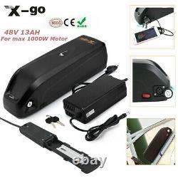 48v 13ah 1000w 750w Ebike Électrique Lithium Vélo Batterie MI Moteur Bafang Vélo