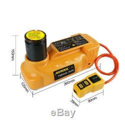 5 Tonnes 12v DC Hydraulique Électrique Prises Étage Ascenseur Pneus Change Réparation Voiture Tool Kit