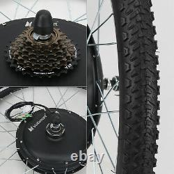 500w Electric Bicycle E Bike Motor Conversion Kit 26 Manette Des Gaz Arrière