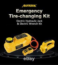 5ton 6ton 12v Électrique Hydraulique Vérin Électrique Clé À Chocs Repair Tool Autool