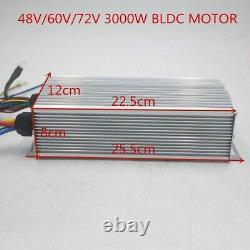 72v 3000w Moteur Scooter Électrique Avec Kit De Contrôleur Pour Scooter Électrique E Vélo