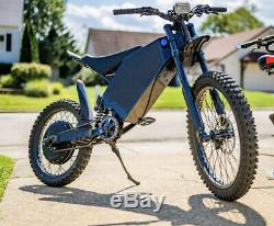 72v 3000w Vélo Électrique Hub Arrière Kit De Conversion Moteur E-bike De Jante De Roue 26'
