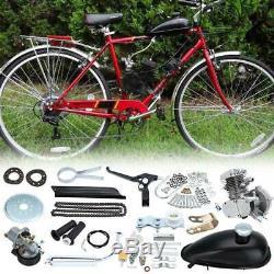 80cc 2 Temps Essence Gaz Vélo Moteur Motorisé Moteur Kit Cylindre Simple