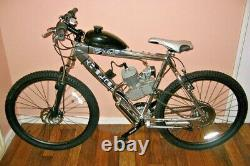 80cc 26 28 Bike Bicycle Motorized 2 Stroke Cycle Petrol Gas Engine Kit Set