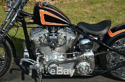 Acm Rigide Bobber Chopper Complet De Moto Châssis Vélo Dans Une Boîte Kit 4 Harley