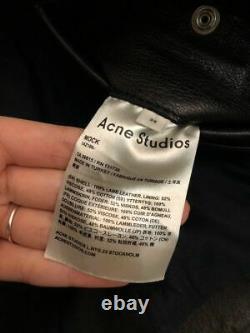 Acne Studios Veste En Cuir Taille 34 Euros