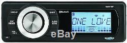 Aquatique Av A / V Pour 1998-2013 Harley Étanche Bluetooth Mp3 Aux Radio Stéréo