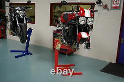 Ascenseur De Moto, Stand De Moto, Rouge Original D'eazyrizer, Garanti Pour La Vie