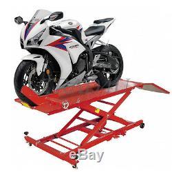 Ascenseur Moto Moto Vélo Hydraulique Rampe 1000 Lbs Service Shop Banc 450 KG