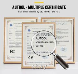Autool Automobile Fumée Machine Evap Test De Fuite Fuite De Tuyau Détecteur De Diagnostic