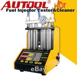 Autool Ct150 Nettoyeur À Ultrasons Injecteur De Carburant Testeur Auto Moto Van 110/220 V