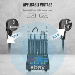 Autool Ct150 Voiture Ultrasonic Fuel Injecteur Testeur Cleaner 4 Cylindre 220v Eu Plug