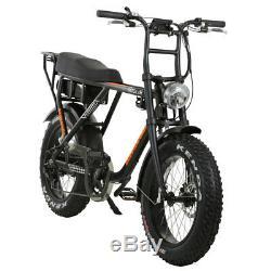 Barracuda Rogue Électrique Fat Bike 20 Roues, Bafang 250w Hub Motor Drive