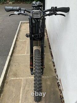 Bataille Bombeur 8000w E Vélo Électrique Moto De Montagne