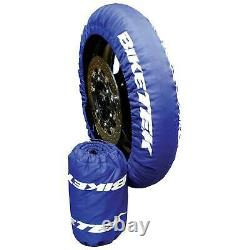 Biketek Superbike Standard Moto / Bike Tyre Warmers Set For Race & Track Day