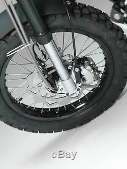 Bullit Hero Motorcycle Apprenant Juridique Scrambler On / Off Road Cafe Racer Bike 125cc