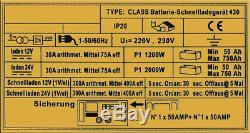 Car Van Chargeur De Batterie 12v 24v Boost Portable Moto Motorhome Camion 430