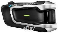 Cardo Scala Rider Packtalk Pack Parlez Téméraire Duo Moto Vélo Bluetooth Intercom