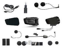 Cardo Scala Rider Smartpack Bluetooth Et DMC Mesh Moto Technologie Dual