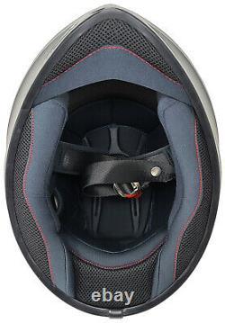 Casque De Moto Gdm Venom 2021 Avec Casque Bluetooth Intercom + Bouclier Fumé