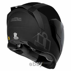 Casque Icon Airflite Mips Stealth Full Face Moto Moto