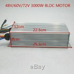 Contrôleur Pour Scooter Électrique E Vélo De 72v 3000w Bldc Kit Moteur Avec