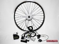 E-bike / Pedelec Vorderrad Umbausatz Kit 250w Watt Avant Moteur 28 Kt3 Affichage