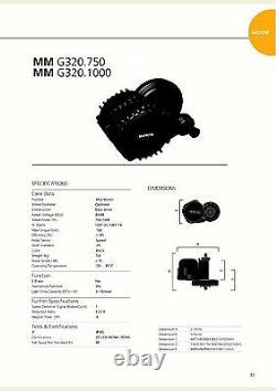 E-bike Umbau Bafang G320 Bbshd 100mm 48v 1000w Mittelmotor Umrüstsatz Affichage