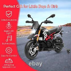 Electric Kids Ride On Motorcycle Liscensed Aprilia Dorsoduro 900 12v Moto
