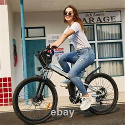 Faltbares E-bike 26zoll Elektrofahrrad Mountainbike Klapprad Citybike 350w Moteur