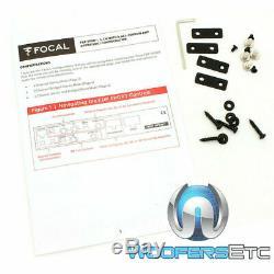 Focal Fdp Sport 4 Canaux 1000w Rms Moto Haut-parleurs Tweeters Amplificateur Nouveaux