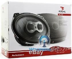 Focal Pc710 7x10 Qualité Sonore Audiophiles 3-way Speakers Coaxial Performance