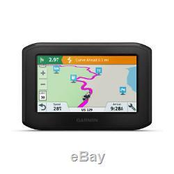 Garmin De 396 Lmt-s Navigator Moto Avec 4,3 Écran Et Mise À Jour Wi-fi