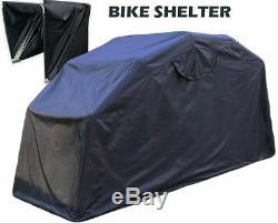 Grand Abri Moto Vélo Couverture Extérieure Garage Shed Cyclomoteur Motocycle Stockage