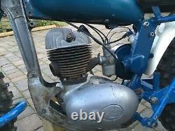 Greeves Vintage Scrambler Projet Villiers 250 Hawkstone 1962 Véritable Pré-65
