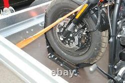 Harley Davidson Motorcycle Trailer 1300kg Simple Essieu Deux Bike Trailer Al-ko