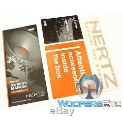 Hertz Sv165.1 6.5 Spl Voir 400w Composante 4 Ohms Midrange Voiture Haut-parleurs Nouveaux