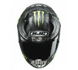 Hjc Crph 11 Monstre Full Face Casque De Moto Camo Militaire Mc-5