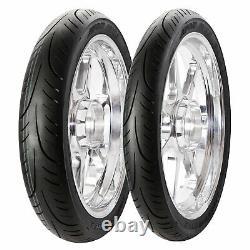 Honda Cbf 125 2009-2016 Avon Street Runner Tyre Pair 80/100-s 17 & 100/90-s 17