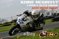 Kayo Mr150 Minigp Motorcycle 4 Temps Race Track Bike Mini Moto