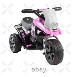 Kids Motorcycle Ride On Motorcycle Toy Electric Scooter Car Bike 6v Batterie Royaume-uni