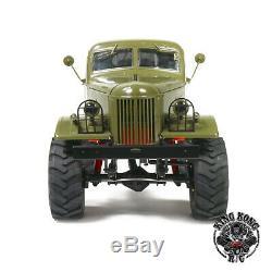Kingkong Rc 1/12 Q157 Boue Monstre 4x4 Soviétique Camion Withmetal Châssis Kit Set