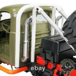 Kingkong Rc 1/12e Q157 Monster 4x4 Truck Soviétique Avec Ensemble Kit De Châssis Métallique
