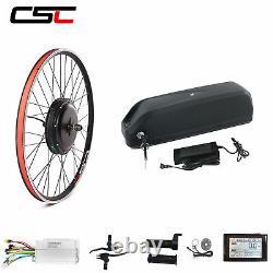 Kit De Moteur De Conversion De Vélo E Avec Batterie 26inch 48v 1500w Vélo Électrique